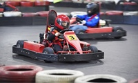 Karting Session for One, Two or Four at Teamworks Karting, Choice of Location (Up to 44% Off)