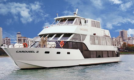 Saturday or Sunday Sunset Dinner Cruise in Vancover Harbor for One or Two from Accent Cruises (Up to 51% Off)