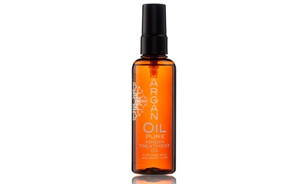 Pure Argan 100ml Treatment Oil For Hair and Body from £10.07