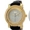 JBW Hendrix Men's Diamond Bezel and Floating Crystal Watch