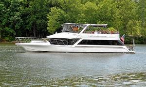 Lake Hickory Adventures Dinner Cruise: Dinner Boat Cruise for Two or Four at Lake Hickory Adventures Dinner Cruise - Lake Hickory (Up to 37% Off)