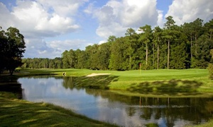Swan Point Yacht & Country Club: 18-Hole Round of Golf with Cart & Range Balls for Two or Four at Swan Point Yacht & Country Club (Up to 50% Off)