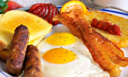 Breakfast for Two or Four at Archie's American Diner (Up to 45% Off)