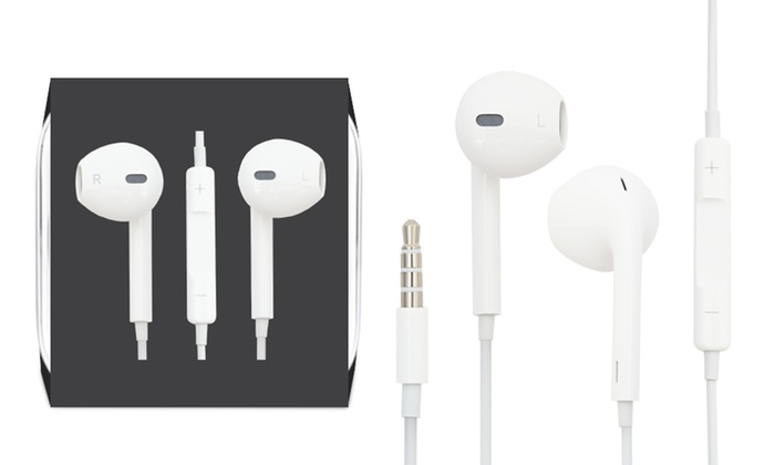 One or Two Pairs of Apple Earpods® Repackaged for £9.95