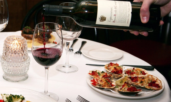 Tomas Bistro - Tomas Bistro: Three-Course French Creole Dinner for Two or Four at Tomas Bistro (38% Off)