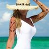Colored Accessory JewelryTatt Temporary Tattoo and Free Nail Art