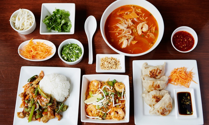 Tara Temple Restaurant - Ballston - Virginia Square: $25 for $40 Worth of Thai and Japanese Food at Tara Temple Restaurant