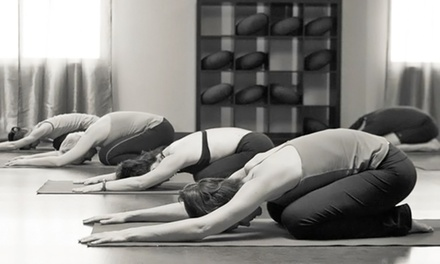$59 for One Month of Unlimited Yoga Classes at Prajna Yoga & Healing Arts ($150 Value)