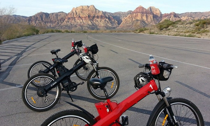 Red E Bike - Red E Bike Tours: Red Rock Canyon Electric-Bike Tour for Two, Four, or Six from Red E Bike (Up to 56% Off)
