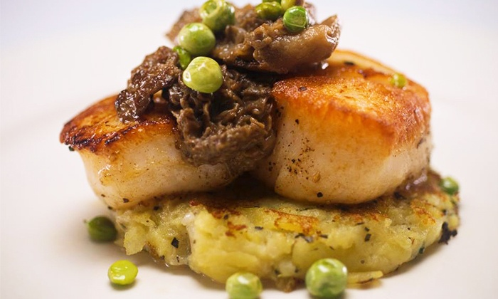 Bistro Ten 18 - Upper West Side: $39.50 for an Upscale American Dinner for Two at Bistro Ten 18 (Up to $88 Value)