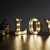 """Marquee 4.5"""" LOVE LED Sign"""