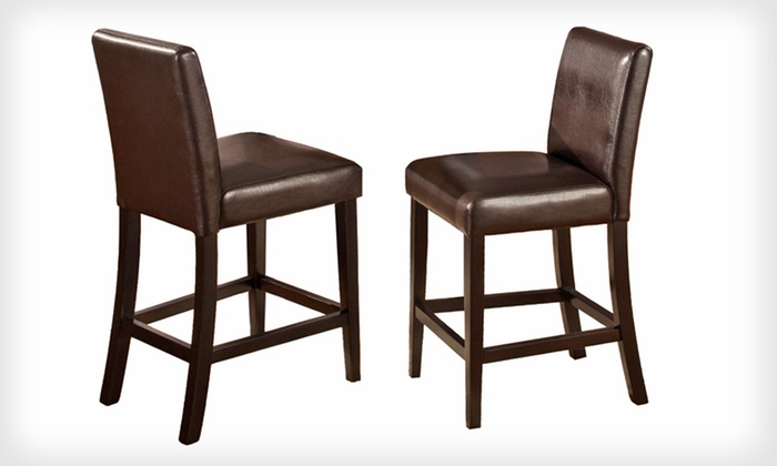 Pub Stools Set Groupon Goods