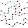 Freshwater Pearl and Gemstone Bead Necklaces