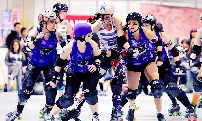 Arch Rival Roller Girls 2014 Season Championship - Midtown: Arch Rival Roller Girls 2014 Season Championship at Chaifetz Arena on Friday, March 7, at 8 p.m. (Up to 52% Off)