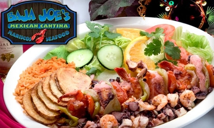 Baja Joe's Mexican Cantina - Mesa: $15 for $30 Worth of Authentic Mexican Fare and Drinks at Baja Joe's Mexican Cantina in Mesa