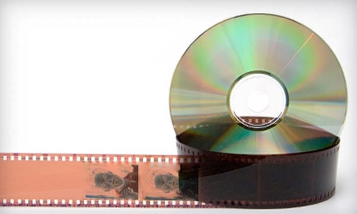 Video Ventures - Downtown Vinton: $20 for $40 Worth of VHS or Film Transfers to DVD at Video Ventures in Vinton
