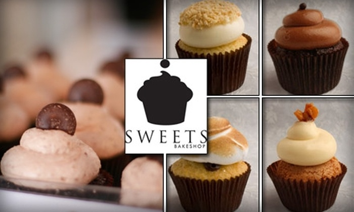 Sweets Bakeshop - Merriam Park West: $9 for Six Gourmet Cupcakes from Sweets Bakeshop