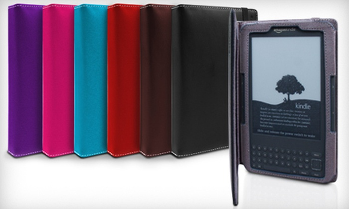Marware Eco-Vue Kindle Cover: $15 for a Marware EcoVue Kindle Touch/Touch 3G Cover ($34.99 Value). Six Colors Available.