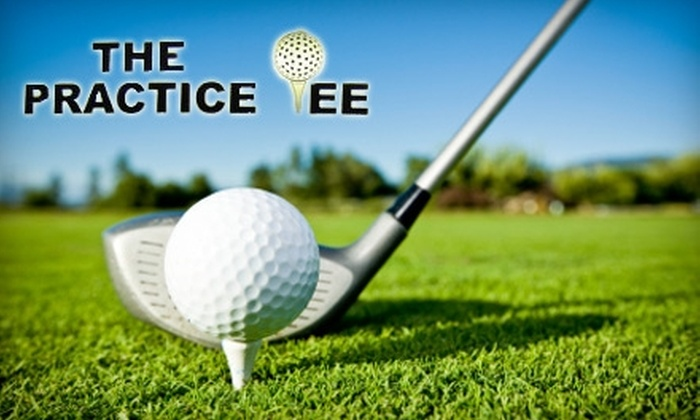 The Practice Tee - Bossier City: $20 for a 30-Minute Golf Instruction and Medium Bucket of Balls at The Practice Tee ($44 Value)