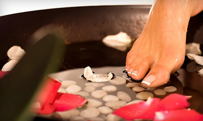 ChrisAnn's Nails, Pedicures, and Notions - Central Business District: $25 for Pedicure and Leg Exfoliation at ChrisAnn's Nails, Pedicures, and Notions ($55 Value)