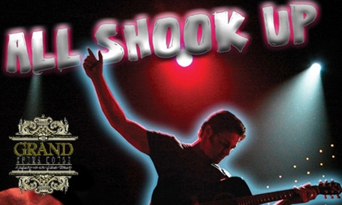 "The Grand Opera House - Macon: $20 for One Ticket to ""All Shook Up"" at The Grand Opera House ($41 Value). Choose Between Two Dates."