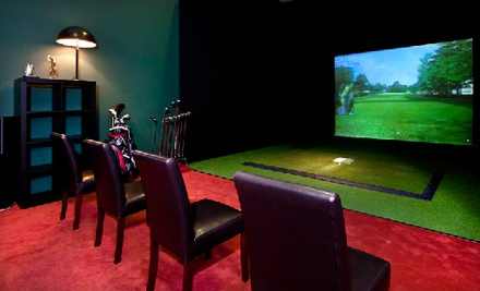 2 Hours of Virtual Golf for Up to 4 People, Redeemable MondayThursday (a $140 value) - Golfer's Paradise in Chicago