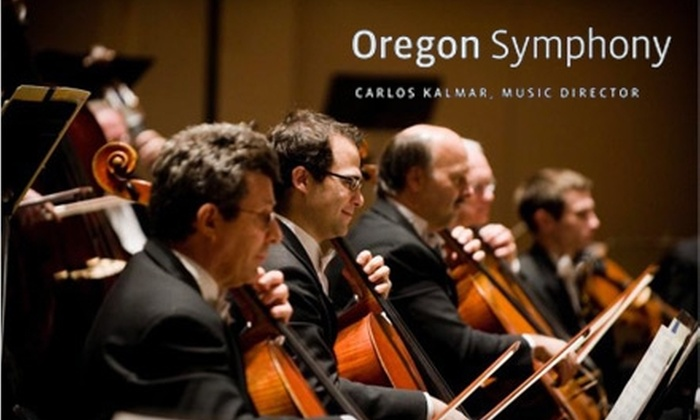 "Oregon Symphony - Multiple Locations: $20 Ticket to the Oregon Symphony's Performance of Tchaikovsky's ""Winter Dreams.""  Choose from Two Dates."