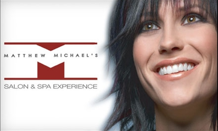 Matthew Michael's Salon & Spa - Multiple Locations: $60 Teeth-Whitening Treatment at Matthew Michael's Salon & Spa (Up to $129 Value)