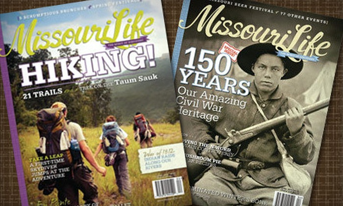 """""""Missouri Life"""" - Boonville: $10 for a One-Year Subscription to """"Missouri Life"""" ($19.99 Value)"""