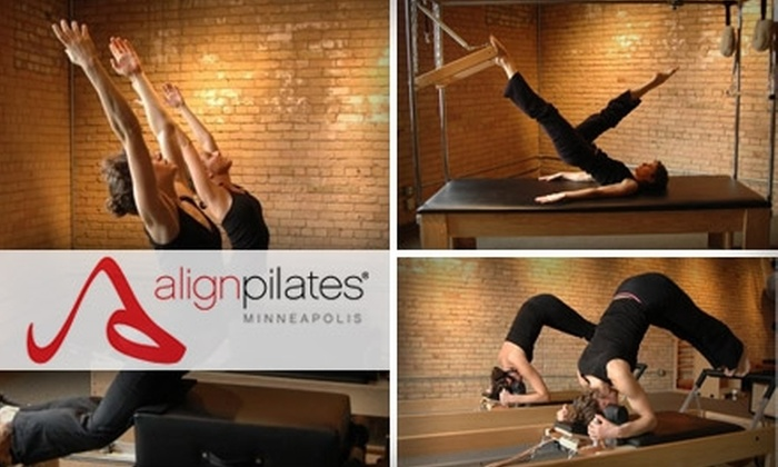 Align Pilates - Uptown: $40 for Four Reformer or Prana Stretch Classes at Align Pilates