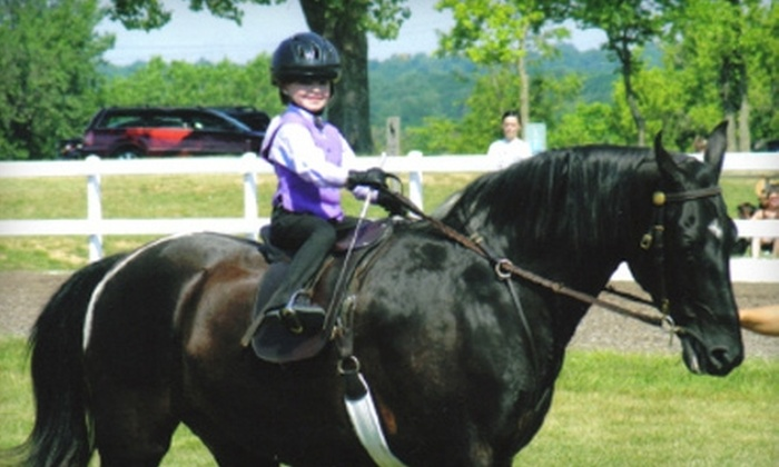 Linden Hill Stables - Kearney: Horse-Riding Birthday Party for 1–10 or 11–25 Kids at Linden Hill Stables in Kearney
