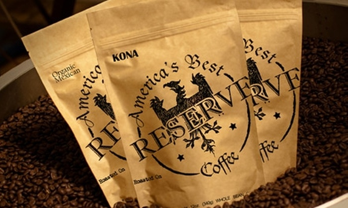 America's Best Coffee Reserve: $15 for $35 Worth of Gourmet Coffees and Teas at America's Best Coffee