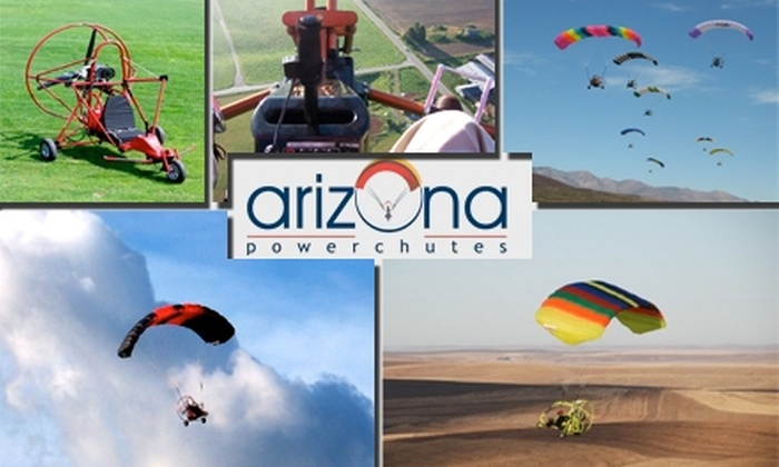 Arizona Powerchutes - North Scottsdale: $125 for Powered Parachute Lesson from Arizona Powerchutes ($289 Value)