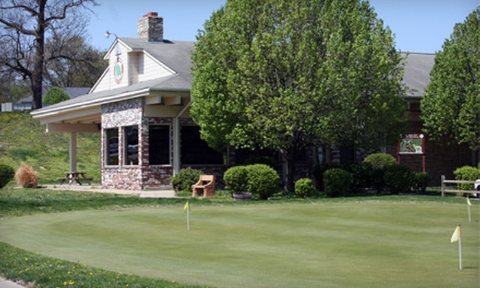 The Oaks Golf Club - Kansas City: $15 for a Nine-Hole Golf Outing for Two at The Oaks Golf Club in Leavenworth ($30 Value)