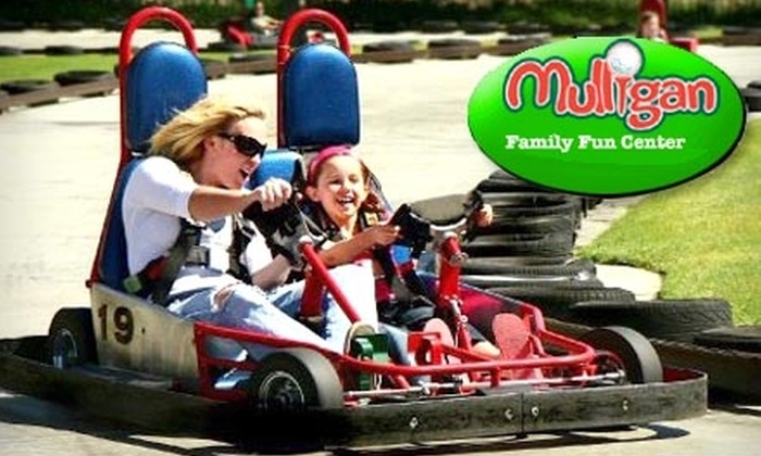 Mulligan Family Fun Center - Multiple Locations: $12 for All-Day Pass to Mulligan Family Fun Center (Up to a $24 Value)