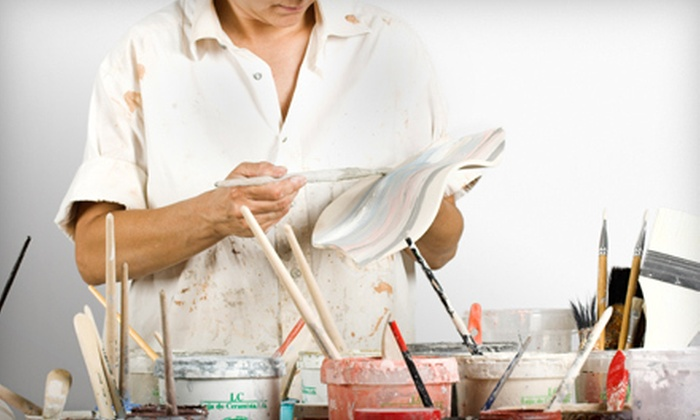 Bella Pottery Painting Studio - Coddle Creek: Pottery Painting at Bella Pottery Painting Studio in Mooresville (55% Off). Three Options Available.