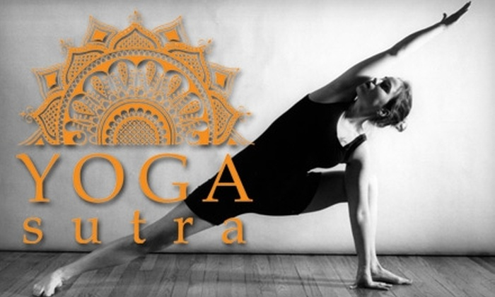 Yoga Sutra NYC - Kips Bay: $49 for a 10-Class Pass or $89 for a 20-Class Pass at Yoga Sutra NYC