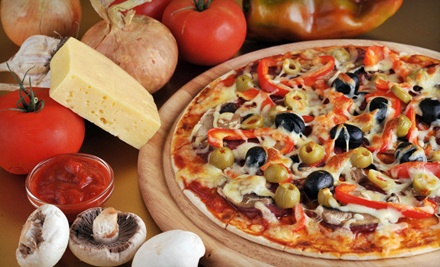 Pizza Meal for 2 - Taso's Family Restaurant in West Vancouver