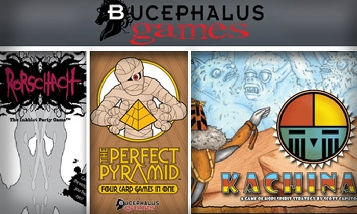 Bucephalus - Greenwood: $49 for Four Fantastic Games from Bucephalus Games