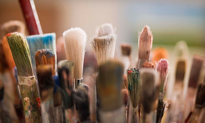 Artescape Studios & Simply Jane Studio - Tangletown: Art Class for One or Two, Studio Membership, or Kids' Party at Artescape Studios and Simply Jane Studio (Up to 75% Off)