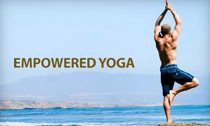 Empowered Yoga - Wilmington-Newark: $40 for Five Drop-In Classes at Empowered Yoga ($80 Value). Choose from two locations.