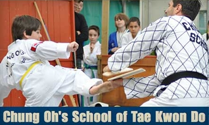 Chung Oh's School of Tae Kwon Do - Redford: $99 for Two Months of Tae Kwon Do Tuition and More at Chung Oh's School of Tae Kwon Do ($250 Value)