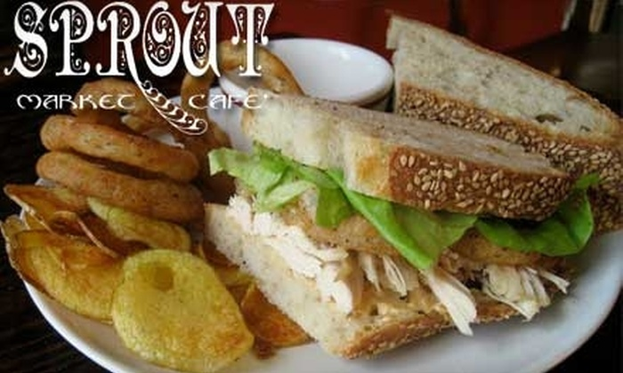 Sprout - The Fan: $10 for $20 Worth of Locally Sourced Fare at Sprout