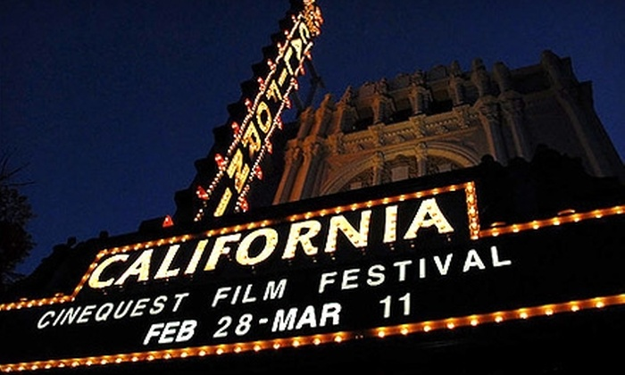Cinequest Film Festival 21 - Downtown San Jose: $75 for Weekend Pass to Cinequest Film Festival 21 March 5–6 (up to a $200 Value)