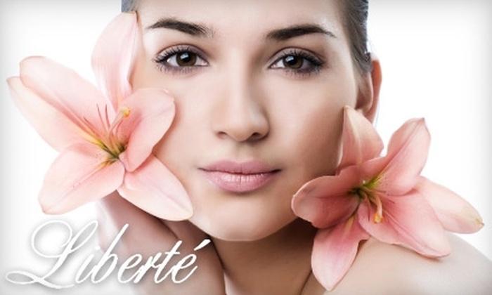 Liberte Skin Wellness - Adams: $25 for $55 Toward a Facial, Sugaring or Waxing, Eyelash Extensions, Brow Design, and More at Liberte Skin Wellness