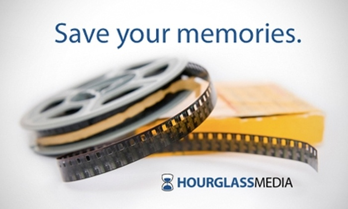 Hourglass Media - North End: $15 for One VHS to DVD Conversion at Hourglass Media (Up to $29.95 Value)