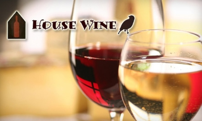 House Wine - Zilker: $15 for a Tasting Class for Two, Including Cheese-Plate Pairings, at House Wine ($30 Value)