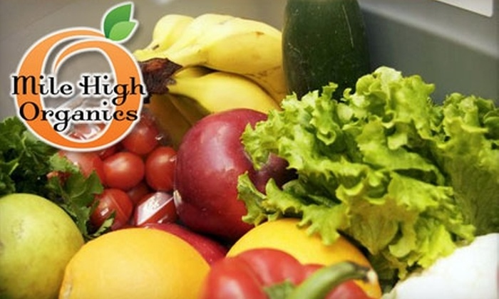 Mile High Organics: $22 for $40 Worth of Organic Produce, Natural Groceries, and More from Mile High Organics