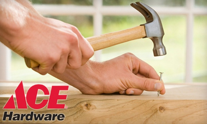 Workbench Ace Hardware - Multiple Locations: $12 for $25 Worth of Merchandise at Workbench Ace Hardware. Four Locations Available.