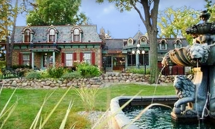 Cobblestone Manor Luxury Bed & Breakfast - Auburn Hills: $92 for a One-Night Stay at Cobblestone Manor ($179 Value)